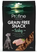 Profine Grain Free Snack Kalkoen 200gr