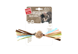 GIGWI - Eco Line Catch&Scratch with Rattle Wood/Rattan/Paper