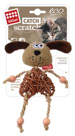 GIGWI - Eco Line Dog Catch&Scratch with catnip Rattan/Wood/Plush