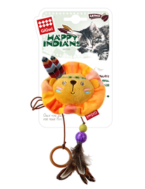 GIGWI - Happy Indains Finger Ring Lion