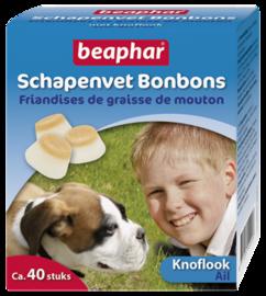 Schapenvet Bonbons Knoflook 40st