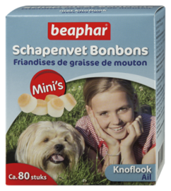 Schapenvet Bonbons Mini's Knoflook 80st