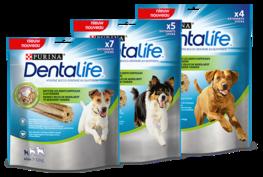 Purina Dentalife tandverzorgende sticks voor honden