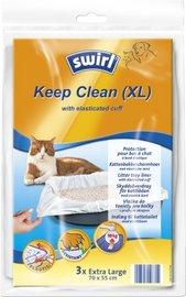 Kattenbakbeschermhoes van Swirl - Keep Clean