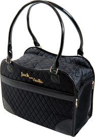 Jack & Vanilla Pet Bag Black - handtas