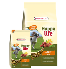 Happy Life Adult met Rund - Hondenvoer