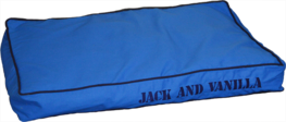 Jack & Vanilla House Of Color Dogbed Blue - Hondenkussen