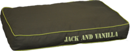 Jack & Vanilla House Of Color Dogbed Khaki - Hondenkussen