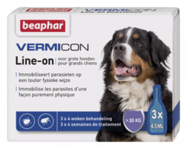 Vermicon Line-On grote hond 3x4,5ml