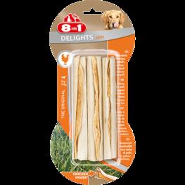 8in1 Delights Chicken Sticks - 3st