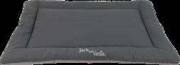 Jack And Vanilla Pure Cotton Benchkussen Lichtgrijs/Grijs