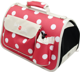 Jack And Vanilla House Of Colors Pet Carrier - Draagtas - Rood