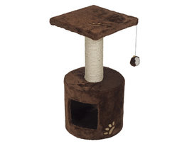 Kattenklim Bongo Bruin - 30x30x59cm