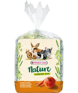 Versele-Laga Nature Timothy Hay met wortel en pompoen 500gr