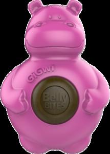 Gigwi Belly Bites Nijlpaard - M/L - Roze