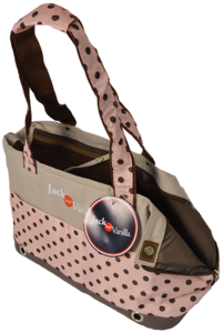 Jack And Vanilla House Of Colors Beach Bag - Draagtas - Roze
